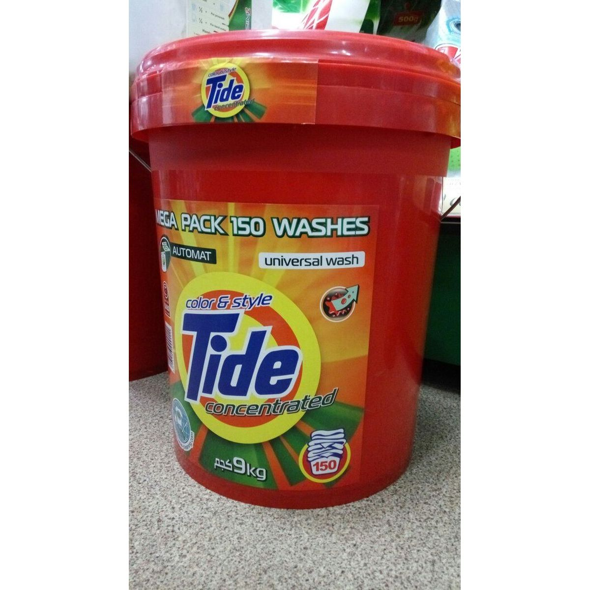 """Tide 9 kg """"color & style"""" (ведро)"""