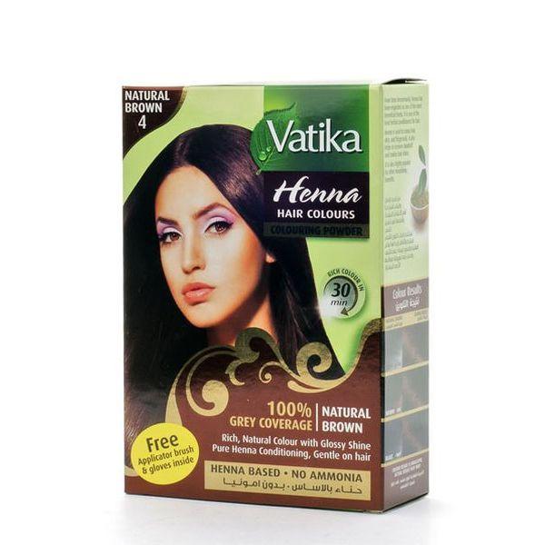 "Хна для волос ""Vatika"" 6 шт."